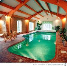 indoor pool with slide home. Well Lighted Home Indoor Pool Cost House Swimming With Slide Water I