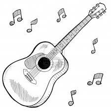 Coloriage De Guitariste Classique Pour Colorierl L