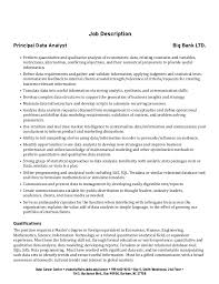 Analyst Job Description. Software Testing Analyst Job Description ...