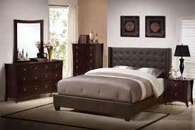 bedroom attractive california king bed sets gray faux leather upholstered platform tufted om headboard 6 drawer