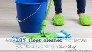easy diy floor cleaner