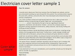 Electrician Cover Letter Electrician cover letter 19