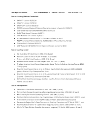 Soccer Resume For College Soccer Cv Example Besikeighty24co 3