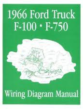 1966 ford f100 truck ford 1966 f100 f750 truck wiring diagram manual 66