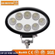 Led Lights How They Work 24w Led Work Light 12v 24v Oval Led Lights Flood Beam For