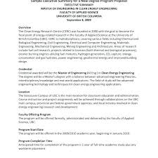 Executive Summary Sample For Proposal Executive Summary Template For Proposal Metabots Co