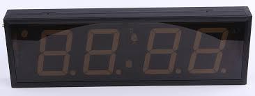 china customized led digital clock