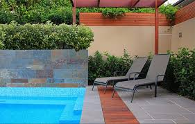 modern pool designs and landscaping. Pool Design Swimming Landscape With Chairs Modern Designs And Landscaping