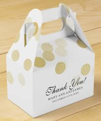 Wedding Favor Packaging Ideas