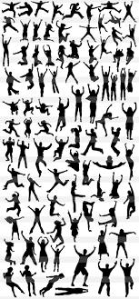 ボードを持つバンザイジャンプダンス格闘技アクションポーズの