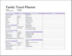 Travel Trip Planner Itinerary Trip Planner Europe Travel Template Strand To Mrna