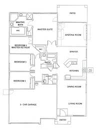 the 2 162 square foot model was a single level plan offering 4 bedrooms 2 baths and a 3 car garage it included a formal living room as well as a family