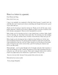 15 Thank You Letter To Dad From Daughter Profesional Resume