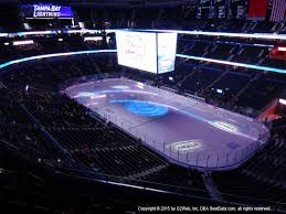 Amalie Arena View From Upper Level 312 Vivid Seats