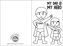 Many of these father's day colouring cards are also available as father's day colouring pages. Free Super Dad Father S Day Printable