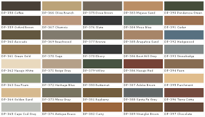 Behr Deck Over Color Chart Behr Deck Over Color Chart Behr Interior Paint Chart