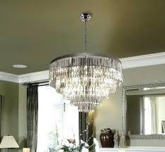 odeon glass fringe rectangular chandelier smoke glass fringe rectangular chandelier