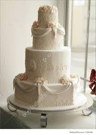 Wedding Cake At The Bakery Stock Image I1595390 At Featurepics