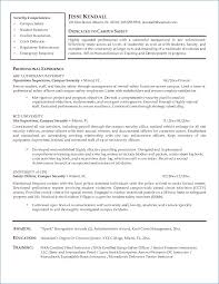 Security Guard Resume | Generalresume.org