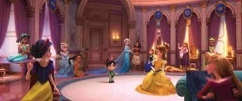 Exclusive Vanellope Meets Disney Princesses In Ralph Breaks The Internet
