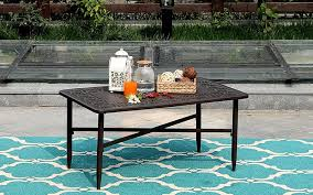 10 outdoor coffee tables
