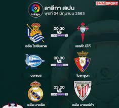 กลุ่มพลังใหม่ - โปรแกรมฟุตบอลลาลีกา สเปน คืนนี้!!!