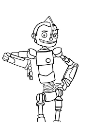 Small Picture Robots coloring pages Download and print robots coloring pages