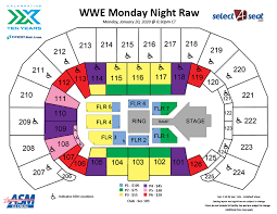 Seating Charts Events Tickets Intrust Bank Arena