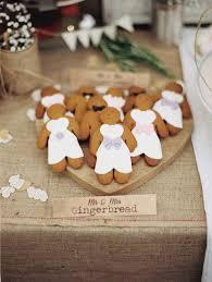 diy gingerbread men for a wedding dessert table