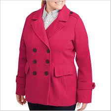 Walmart Plus Size Pea Coats