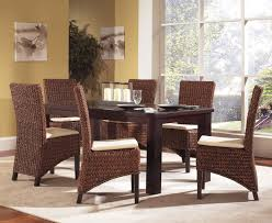set of 4 image of seagr dining room chairs por