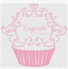 Cute Cupcakes Logo Clipart Cupcake Bakery Frosting Rifle Scope