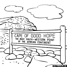 Small Picture Cape of Good Hope South Africa Coloring Page Mystery of History
