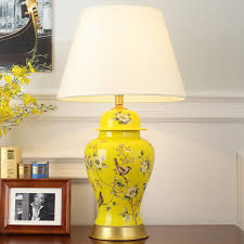 tuda multicolor optional free shipping 40x69cm chinese style ceramic table lamp hand painted ceramic table lamps p6