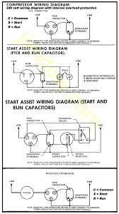 run capacitor wiring diagram air conditioner wiring diagram motor starting capacitor wiring diagram wirdig