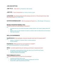 administrator cv library profesional resume for job administrator cv library rajiv shah 47 job description templates and examples template lab job description