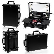 shany cosmetics mini studio togo makeup case with lights amazon co uk beauty