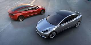 new release electric carTeslas New Affordable Electric Car Went on Sale Website Swamped