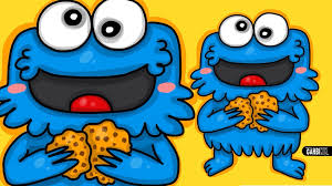 cookie monster drawing cute. Wonderful Monster How To Draw Tricky Cookie Monster  Chibi By Garbi KW Cute And Easy  Drawings YouTube In Cookie Monster Drawing Cute O