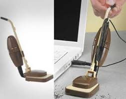 coolest office supplies. 24. A Mini USB Vacuum Coolest Office Supplies O