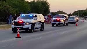 Leander, TX Police Slicktop Chevy Tahoe PPV Code 3 - YouTube