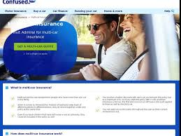 multi car insurance cover get a quote confused com