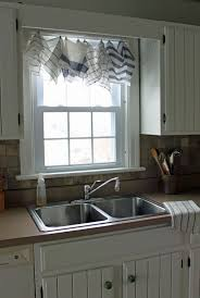 Kitchen Drapery Wood Kitchen Valance Modern Kitchen Window Treatments Blinds