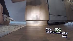 Quarter Round Kitchen Cabinets How To Stain Seal Shoe Base Quarter Round Baseboards To Match