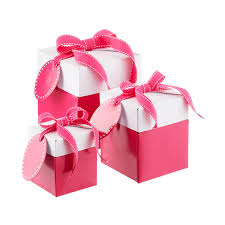 Gift box with bow Blue Pink Popup Gift Boxes The Container Store Gift Boxes Decorative Boxes Gift Boxes With Lids The Container