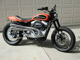street tracker build harley davidson forums