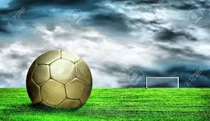 grass and sky backgrounds. Soccer Ball On Green Grass And Sky Background Stock Photo - 8615882 Backgrounds A