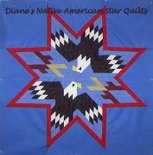 Patterns ~ Diane's Native American Star Quilts &  Adamdwight.com