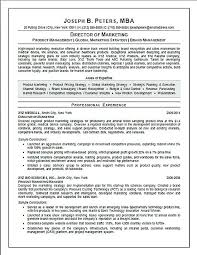 Sales And Marketing Manager Resumes Resume For Marketing Director Breathelight Co