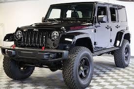 jeep rubicon 2015 black. preowned 2015 jeep wrangler rubicon hard rock unlimited black hemi conversion